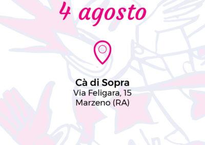 Ca' di Sopra – 4 agosto